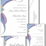 Nouveau wedding invitations