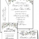 Floral Wreath wedding invitations