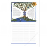 Tree of Life Quaker Wedding Certificate