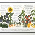 Vegetable Garden Ketubah - Custom Ketubah ©Melissa Dinwiddie